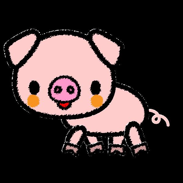 pig_side-handwrittenstyle