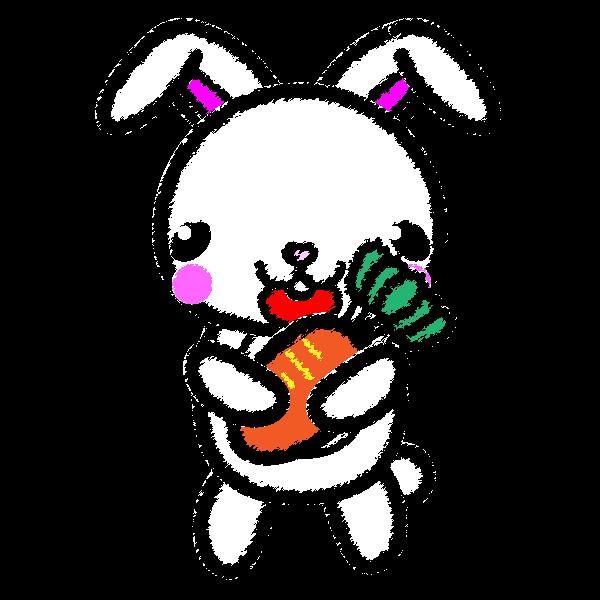 rabbit_carrot-handwrittenstyle