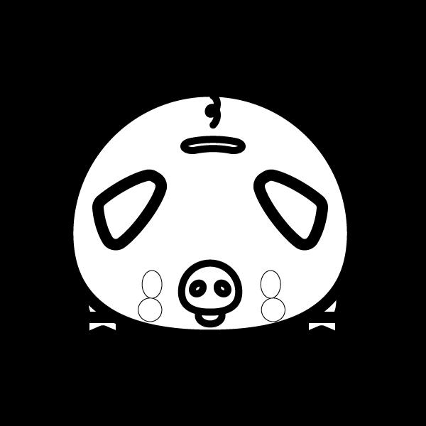 savings-box_pig-blackwhite