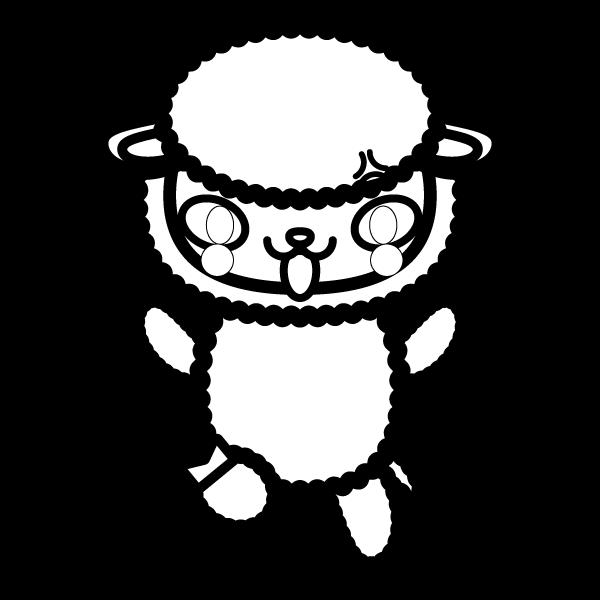 sheep_angry-blackwhite