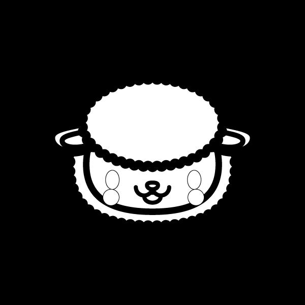 sheep_face-blackwhite