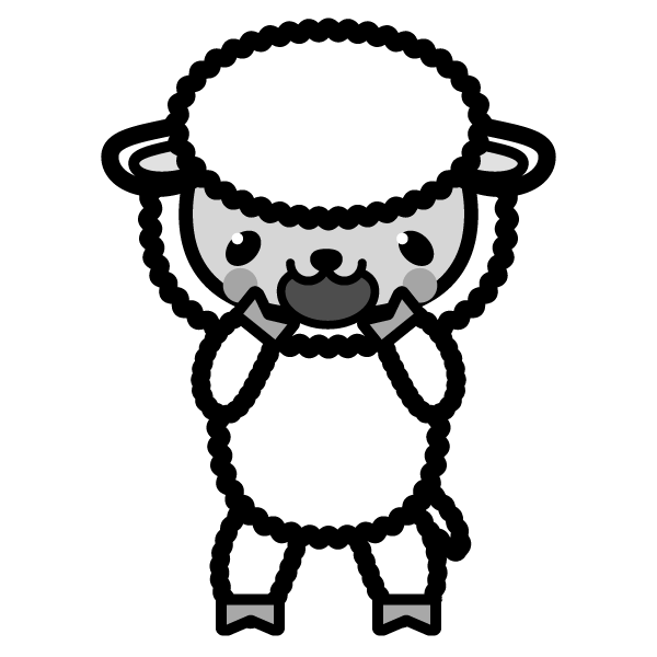 sheep_glad-monochrome