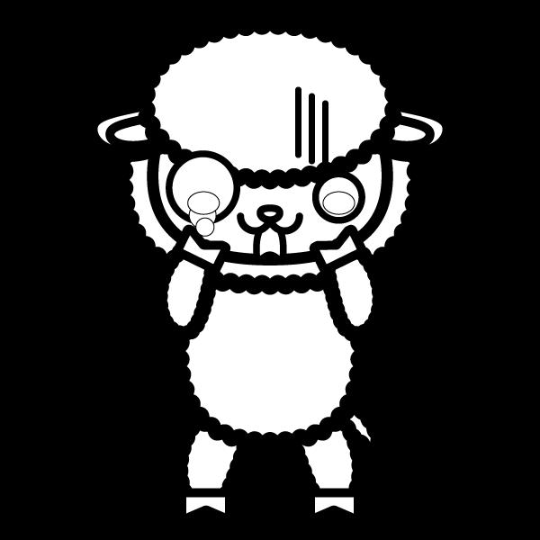 sheep_shock-blackwhite