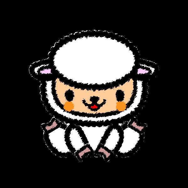 sheep_sit-handwrittenstyle