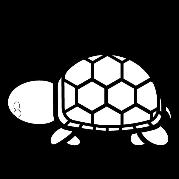tortoise_01-side-blackwhite