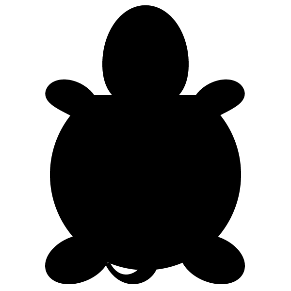 tortoise_01-silhouette