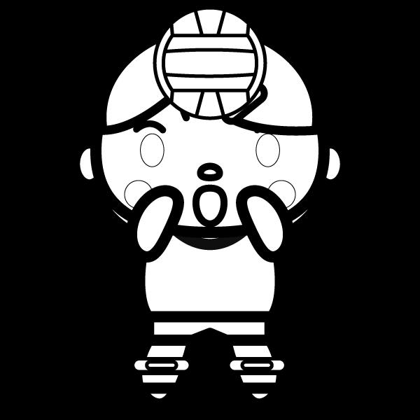 volleyball_toss-blackwhite
