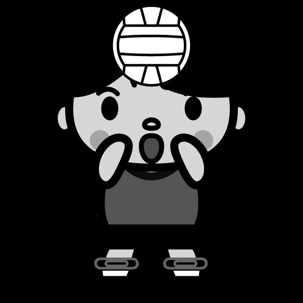 volleyball_toss-monochrome