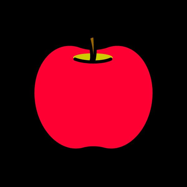 かわいいりんごの無料イラスト・商用フリー