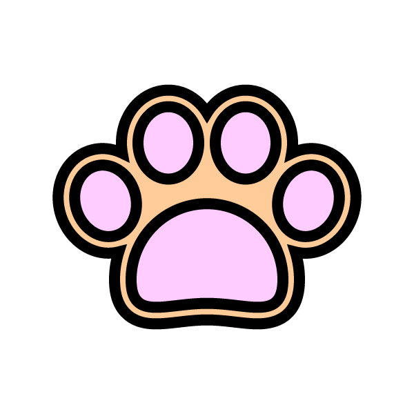 可愛い犬の肉球