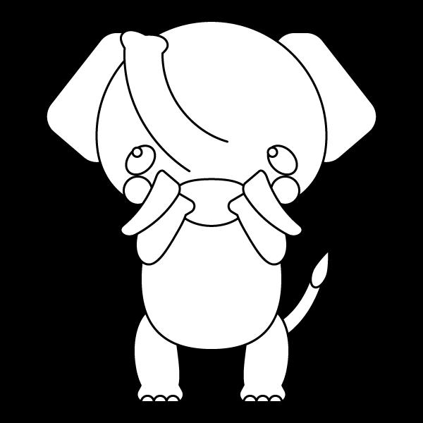 elephant_glad-blackwhite