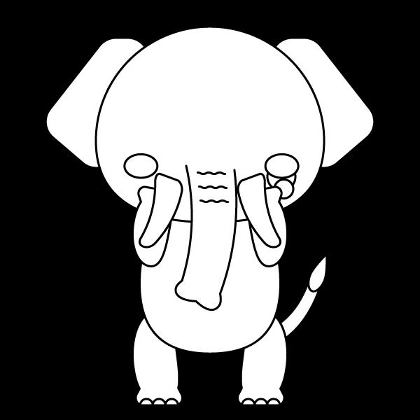 elephant_sad-blackwhite