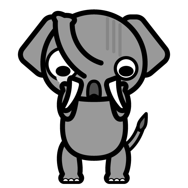 elephant_shock-monochrome