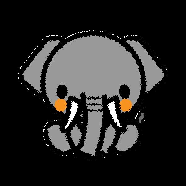 elephant_sit-handwrittenstyle