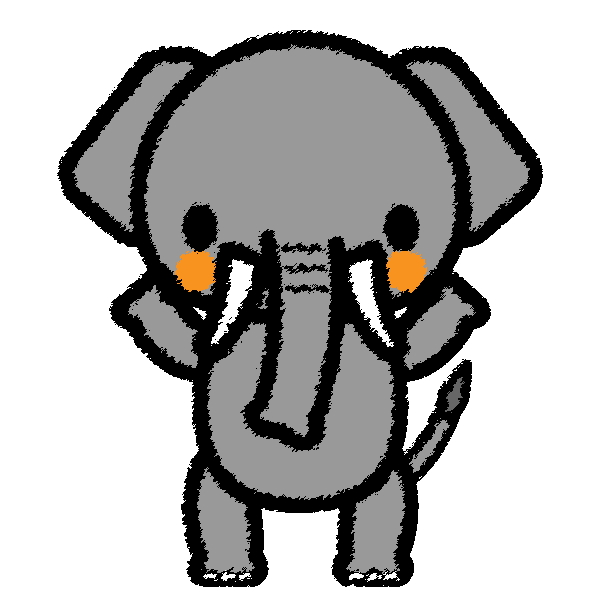 elephant_stand-handwrittenstyle