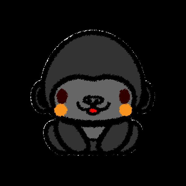 gorilla_sit-handwrittenstyle