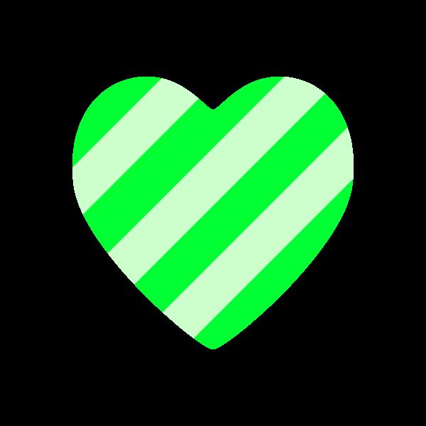 heart2_stripe-green-nonline