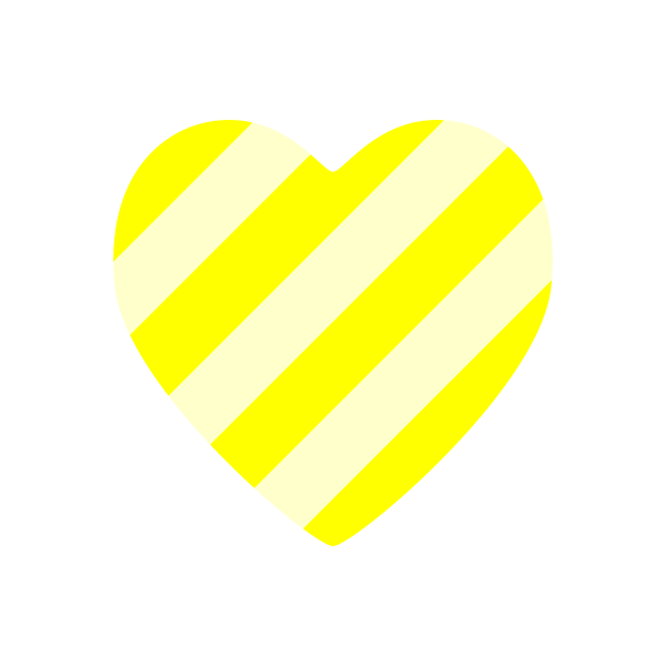 heart2_stripe-yellow-nonline