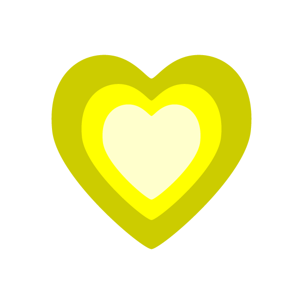 heart_03-yellow-nonline