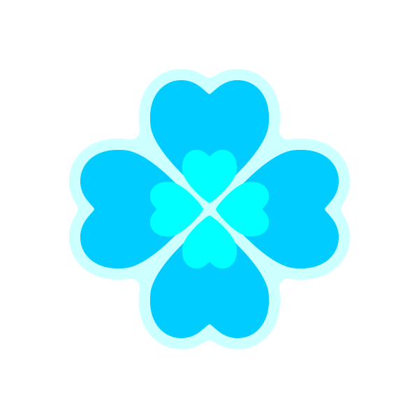 heart_clover-lightblue-nonline
