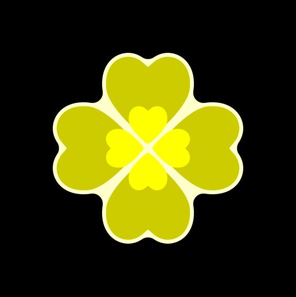 heart_clover-yellow