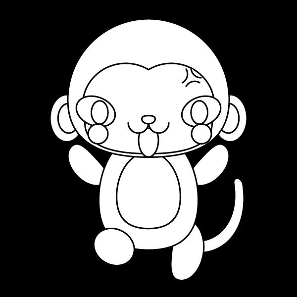 monkey_angry-blackwhite