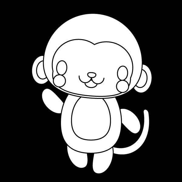 monkey_enjoy-blackwhite