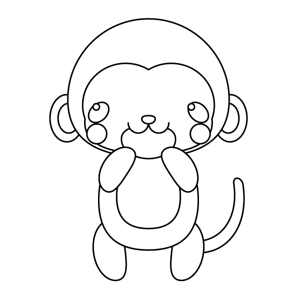 monkey_glad-blackwhite