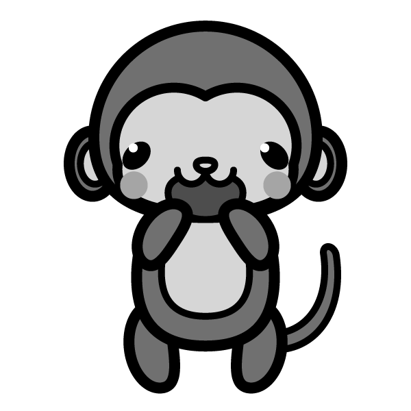 monkey_glad-monochrome