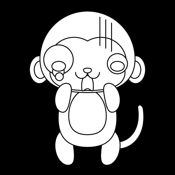 monkey_shock-blackwhite