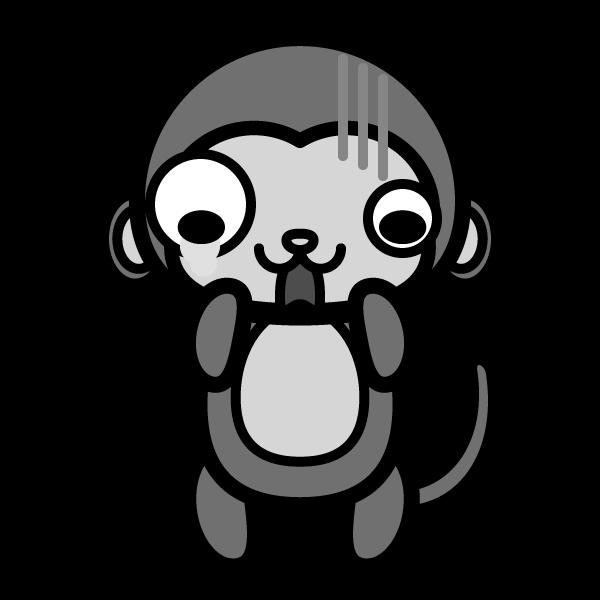 monkey_shock-monochrome