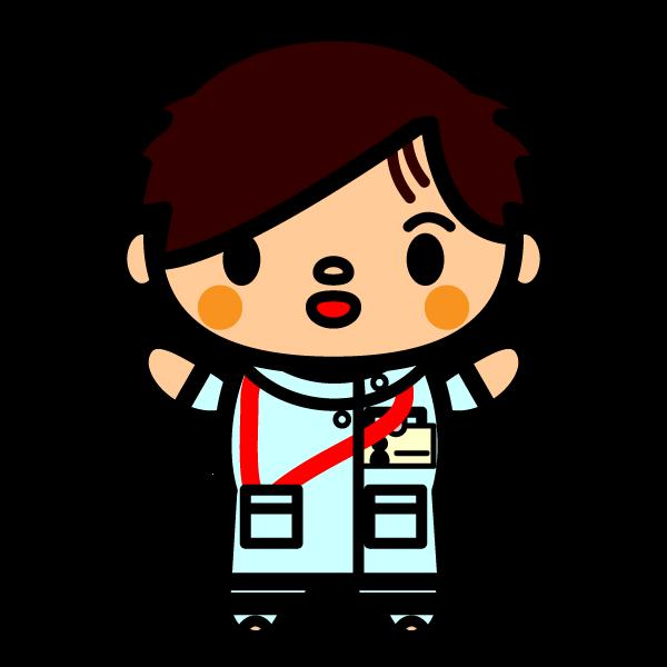 かわいい看護師(看護士)の無料イラスト・商用フリー