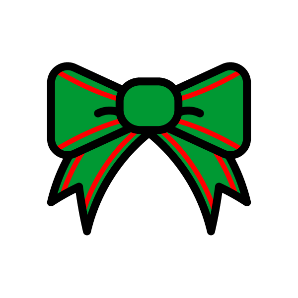 ribbon_christmas01-green