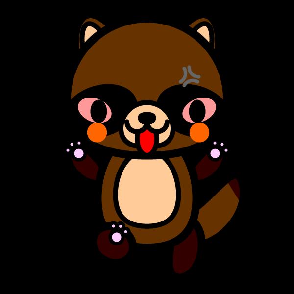 tanuki_angry