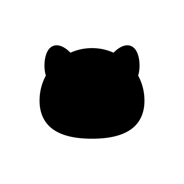 tanuki_face-silhouette