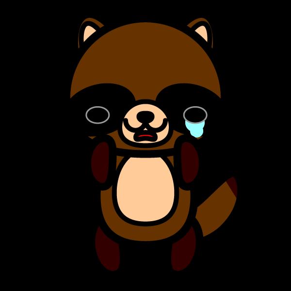 tanuki_sad