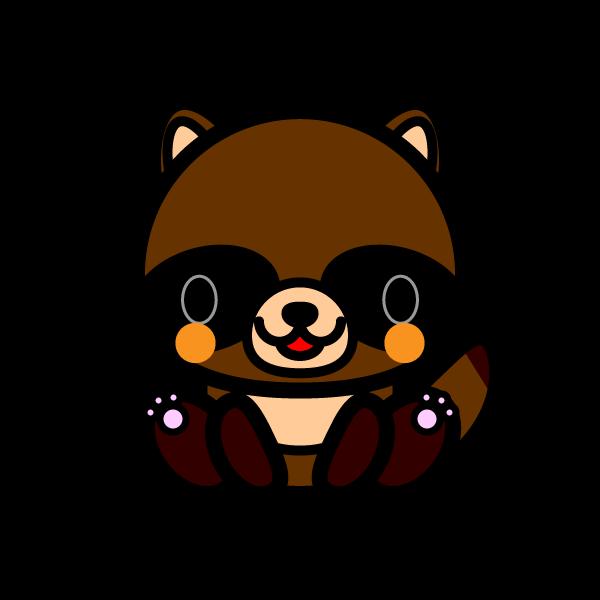 tanuki_sit
