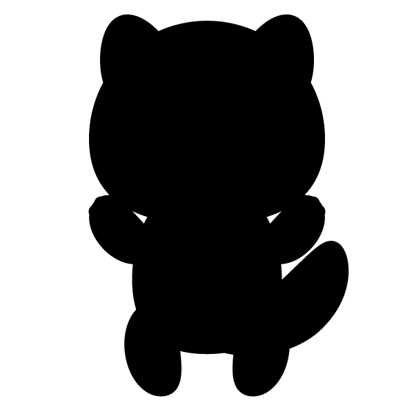 tanuki_stand-silhouette