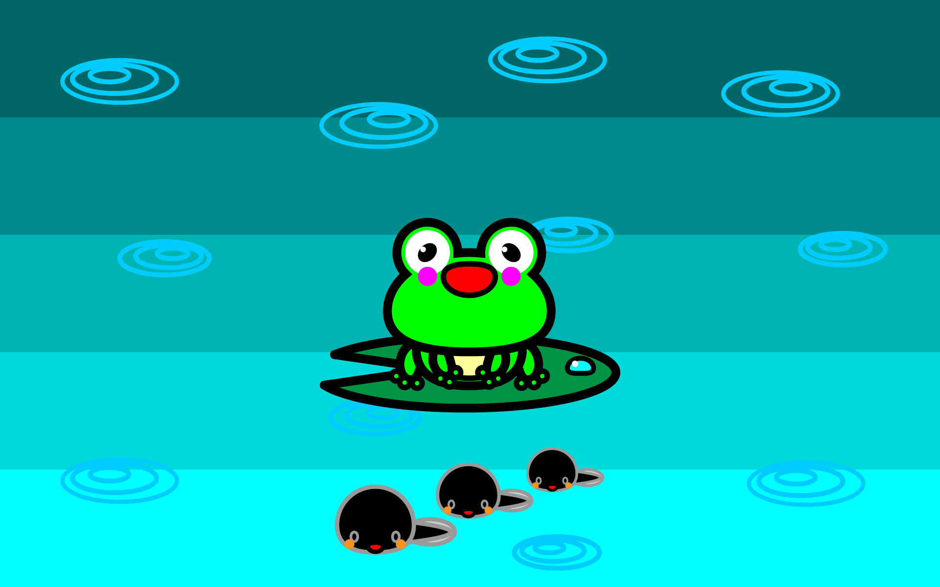 wallpaper1_frog-tadpole-pc