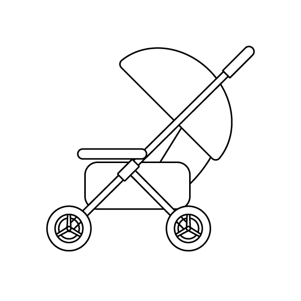 baby-carriage_01-blackwhite