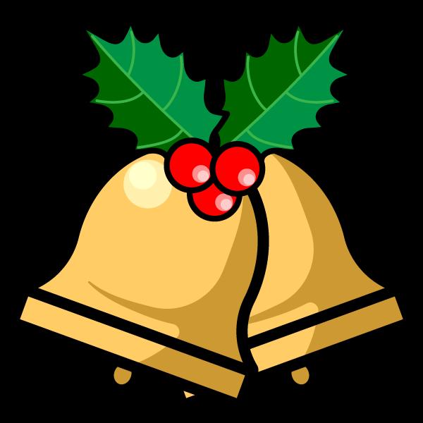 かわいいクリスマスベル4の無料イラスト・商用フリー
