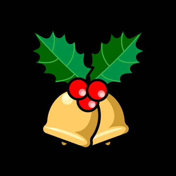 かわいいクリスマスベル6の無料イラスト・商用フリー