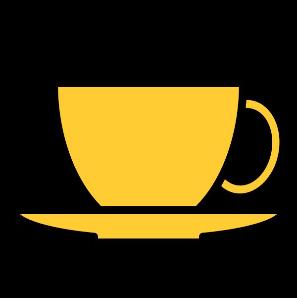 かわいいコーヒーカップの無料イラスト・商用フリー
