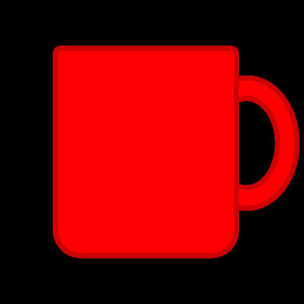 ソフトタッチでかわいいマグカップの無料イラスト・商用フリー