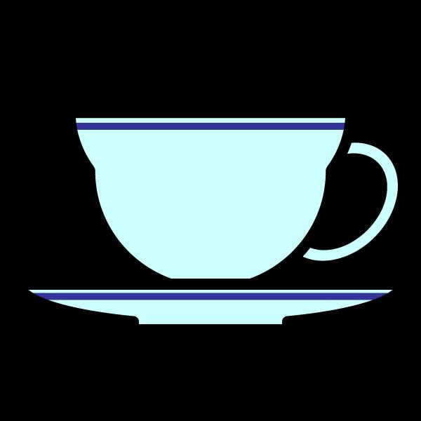 かわいいティーカップの無料イラスト・商用フリー