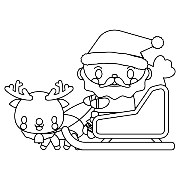santa-claus_02-blackwhite