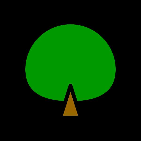 かわいい木の無料イラスト・商用フリー