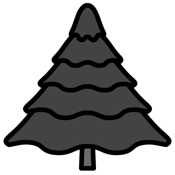 tree_fir-monochrome