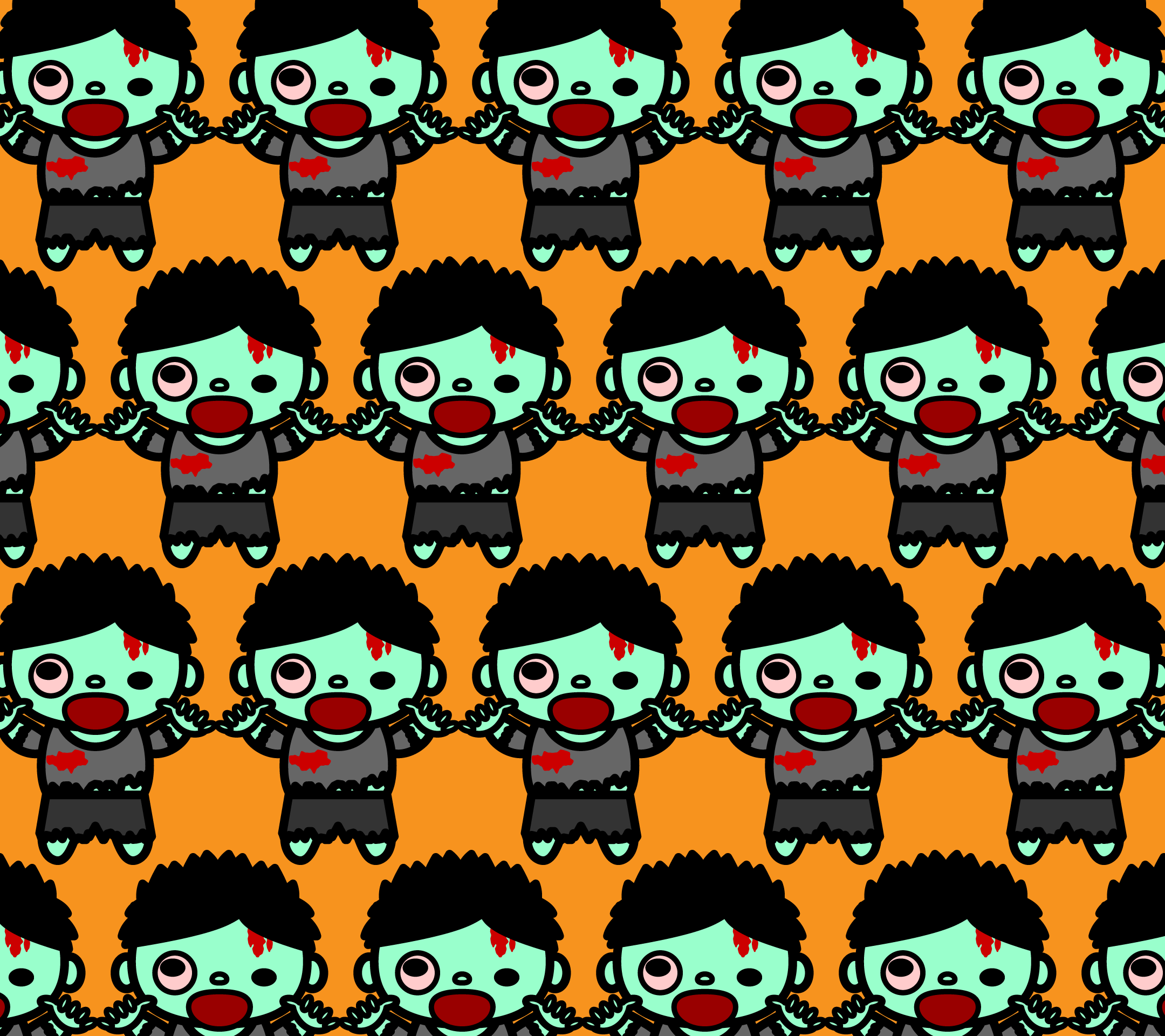 wallpaper2_zombie-man-fill-orange-android