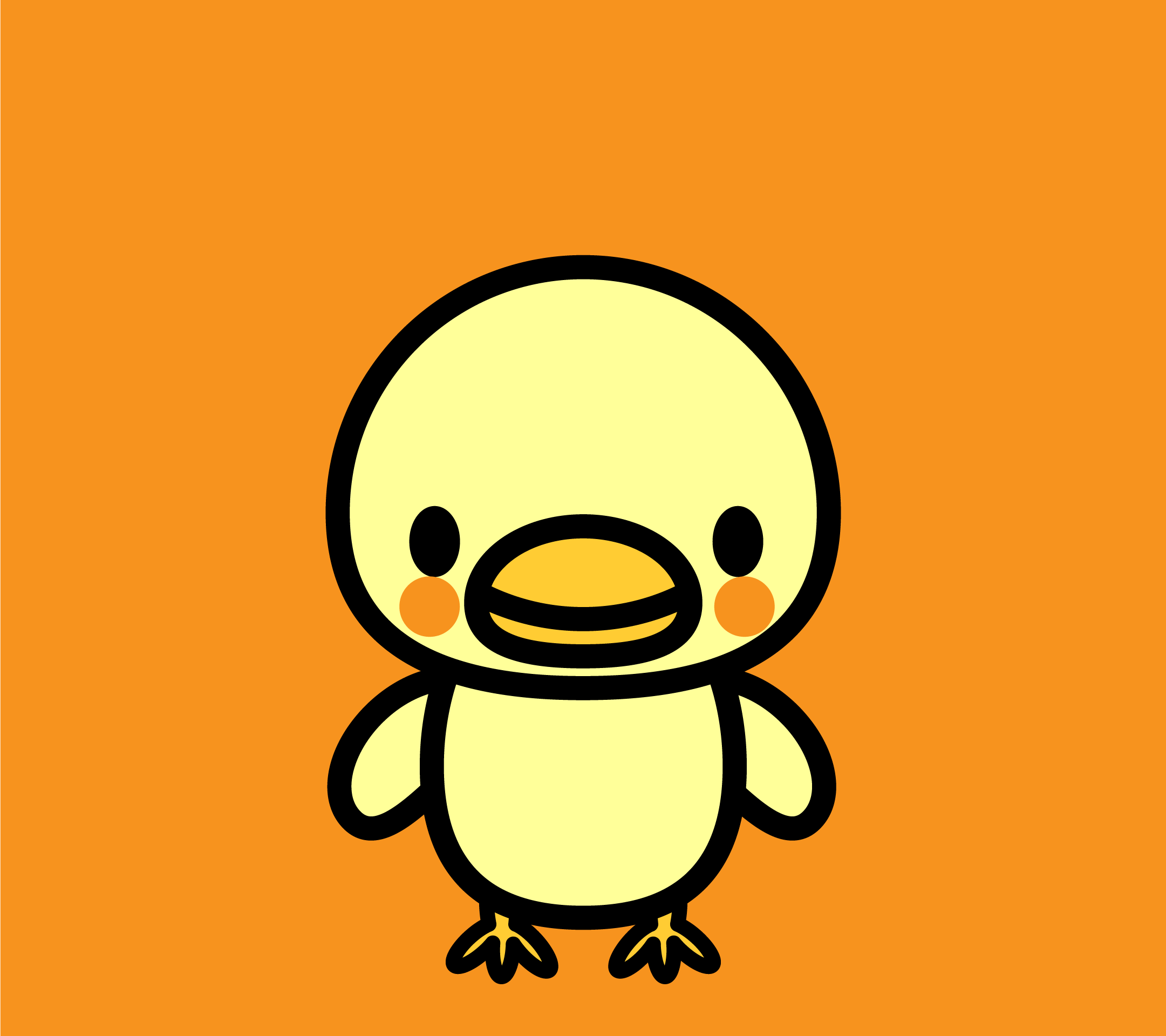 wallpaper3_chick-orange-android